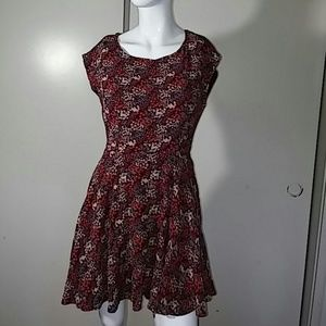 EUC Forever 21 Back Cut Out Mini Dress Sz Small